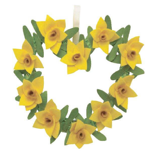WR10053 Daffodil wreath Image