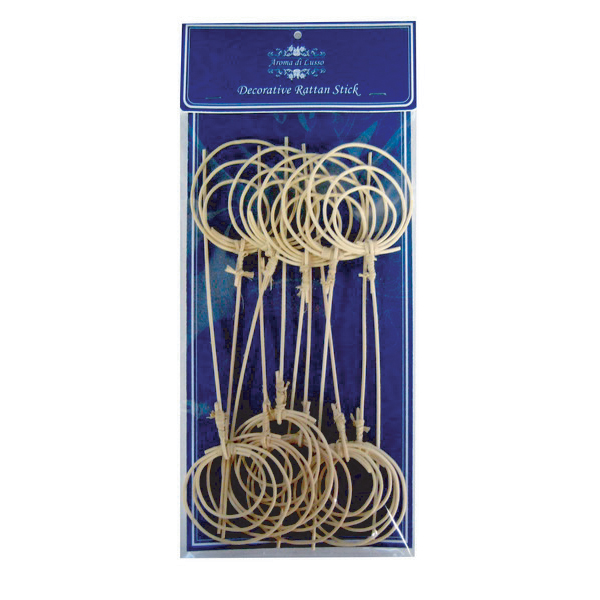 RD10007 Decorative rattan stick 12 pcs. Image