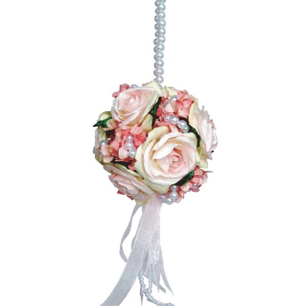 FA10007 Pink rose pomander Image